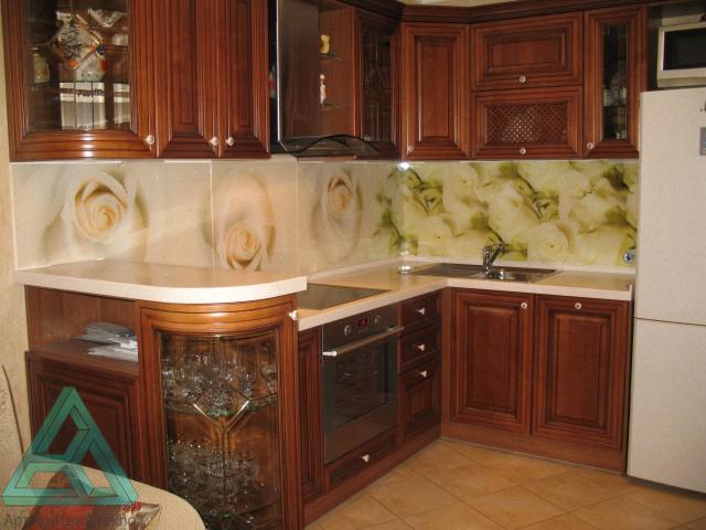 Арт монтаж стекло кухонные фартуки